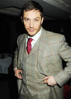 Tom at the afterparty for a special screening of Bronson in London, 2009. [Photo: Getty Image]