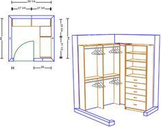 building walk-in closet | Free Armoire Wardrobe Closet Plans – How to Build A Wardrobe