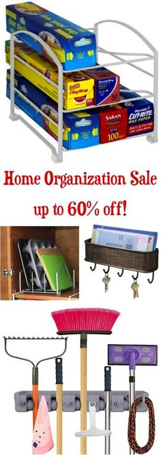 Home Organization Sale - solutions to get your home organized fast!