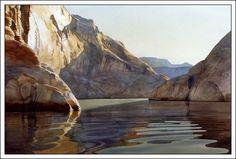 """Morning Shadows"" Digital Print by Watercolor Artist David Drummond"