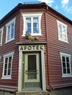 Røros. Pharmacy. Norway