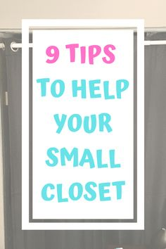 Check out these tips to maximize storage for your small closet. #smallcloset #diystorage #organization #bedroomstorage #closetstorage #closettips #closethacks #storagetips #homeorganization #organizing Small Closet Storage, Small Closet Space, Small Closet Organization, Planner Organization, Fabric Storage Bins, Diy Storage, Storage Ideas, Stacking Shelves, Over The Door Organizer
