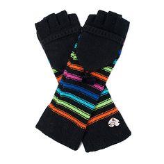 I love the Betsey Johnson Pom Pom Party Gloves from LittleBlackBag
