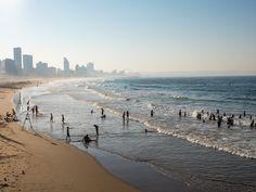 La #plage de #Durban. #AfriqueDuSud