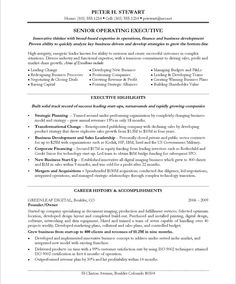Chief Marketing Officer Resume Entrancing 15 Best Cvs Images On Pinterest  Resume Templates Cv Template And .