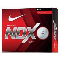 Nike Golf NDX Heat Golf Balls Golf Balls)  The Nike NDX Heat golf ball is a  2 piece ball with an alignment aid. Built for distance 836255f3ab01
