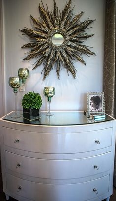 Decor ~ Nedel Model by David Neden in Olde Naples ~ Interior design by Cherie Baer, Robb & Stucky Naples ~ 2014 Sand Dollar Award recipient for Interior Design of the Year