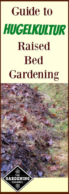 Hugelkultur raised bed gardening may not be something you have tried, but read why you should give it a try.