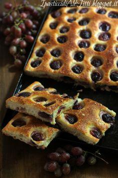 Schiacciata con l'uva #ricetta di @aletitti23