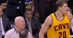 NBA Finals: Joey Crawford Has Choice Words For Mozgov