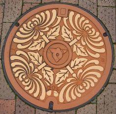 Manhole Cover Art Kagawa  ----------- #japan #japanese #manhoru