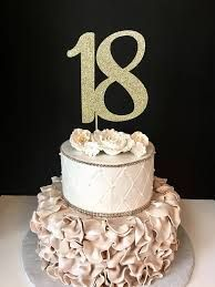 Image Result For 18th Birthday Cake For Girl With Images 18th