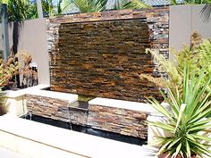 Water Feature Spillway Add a water feature or fountain to your landscaping