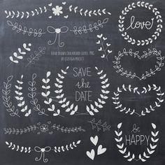 Lorbeer und Kranz Tafel Clipart für Scrapbooking von qidsignproject