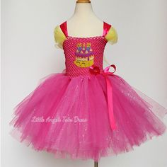 Check out this item in my Etsy shop https://www.etsy.com/uk/listing/477454652/pink-birthday-cake-dress-birthday-party