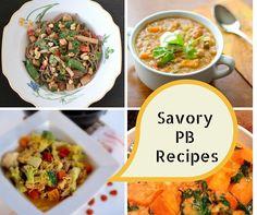 Savory Peanut Butter Recipes @shawsimpleswaps