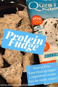 Struggle with nighttime snacking or after dinner 'treats'? You want 'something sweet'? When you are craving a treat, reach for this protein fudge! The best part: it's ready in minutes!