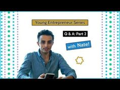 Young Entrepreneur Series: Q&A Part 2      #youngentrepreneur #entrepreneur #part2 #business #insight #wisdom #humor
