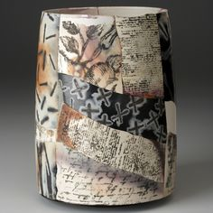The ceramics of Irina Okula are an exploration of contrasts that you will see at the Smithsonian Craft Show April 27-30.
