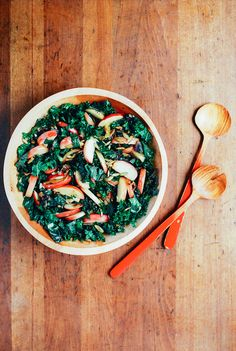 kale salad with saut