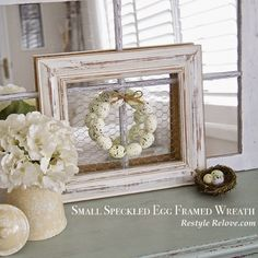 Made this frame with wood, chicken wire and brackets! | Farmhouse ...