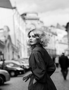 #houseofstyle | Vogue Café. Photographer: Andrey Yakovlev. Models: Sasha Silver, Kristina Purvinska, Ekaterina Shimanskaya