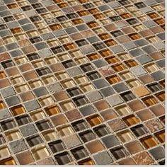 Kaska Mosaic Tile - Fusion Blend Series Cabernet
