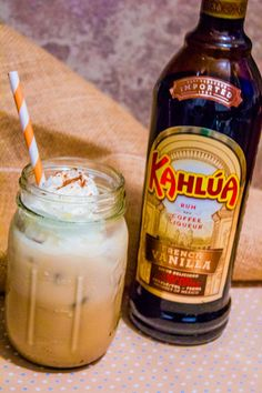 This Coconut Kahlua Cow cocktail is so perfect for warm spring parties!