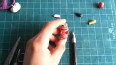How to make elmo with clay! #polymerclay #crafts #elmo #kawaii #howto #tutorial