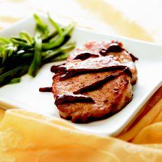 Lomo de cerdo con salsa de ciruela... ¡Uff!