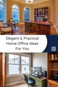 Home environments may not always be the most conducive to work in. The solution? Build yourself a workspace at home with these home office design ideas and tips!