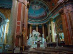 Interior de la Basílica de La Piedad, Buenos Aires