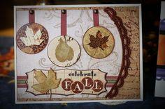 """""""Celebrate Fall"""" card by Dianedi"""