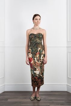 Dress made of tapestry material. by VahanKhachatryan on Etsy, €700.00