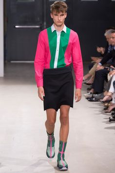 Raf Simons Spring 2014 Menswear Collection Slideshow on Style.com