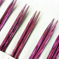 Darn Pretty interchangeable knitting needles in Purple