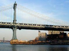 Manhattan Bridge Manhattan Bridge, Bridges, Big, Travel, Viajes, Destinations, Traveling, Trips