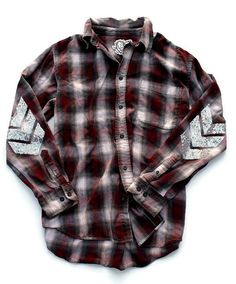 Flannel Shirt. Sequin Flannel Shirt. Plaid by ICaughtTheSun