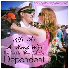 """""""life as a navy wife: The fact is, they call me Dependent"""" Amazing! So true, brought me to tears. Military Love, Military Spouse, Military Deployment, Military Quotes, Navy Wife, Wife And Girlfriend, Navy Man, Us Navy Love, Army Life"""