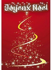 Cartes à imprimer pour souhaiter un Joyeux Noël