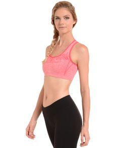b8e1290618 Shop Danskin.com for Space Dye Seamless Bra and see the entire selection of  Womens