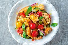 Italienischer Brotsalat Cobb Salad, Food, Italian Bread Salad, Sheet Cakes, Food Food, Essen, Meals, Yemek, Eten