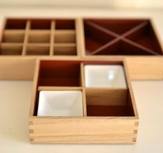 Tiered lacquer wooden boxes for foods