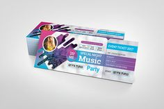 Event Ticket/VIP Pass Vip Pass, Popular Videos, Color Themes, Color Change, Event Ticket, Custom Design, This Or That Questions, Day, Bespoke Design