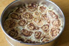 Cinnamon Roll Cheesecake {Tastes of Lizzy T}