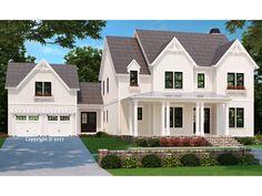 086H-0083: Luxury House Plan with Farmhouse Charm