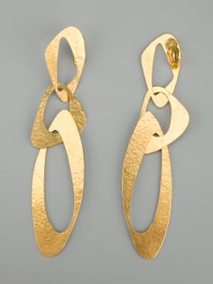 Hervé Van Der Straeten Sixties Clip Earrings - - Farfetch.com.br