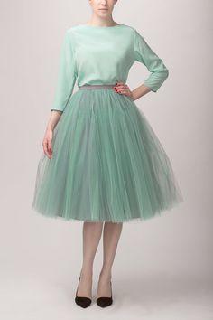 Tulle skirt, via Etsy