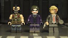 Dark Knight Rises Custom Minifigures