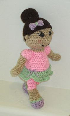 "The Hannah Doll!  Customizable Doll, made to resemble her new ""Mommy"" =)"
